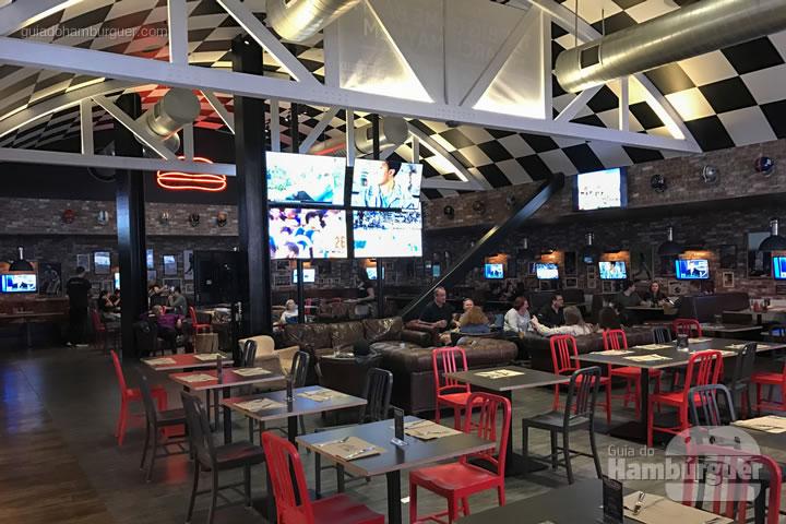 Ambiente - Umami Burger em Las Vegas