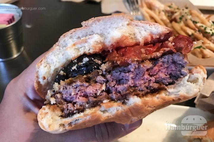 Ponto da carne - Umami Burger em Las Vegas