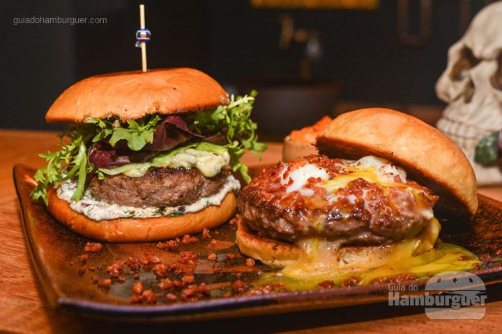 Cardápio - Menu degustação com 2 entradas + 2 burgers no Ícone GastroRock