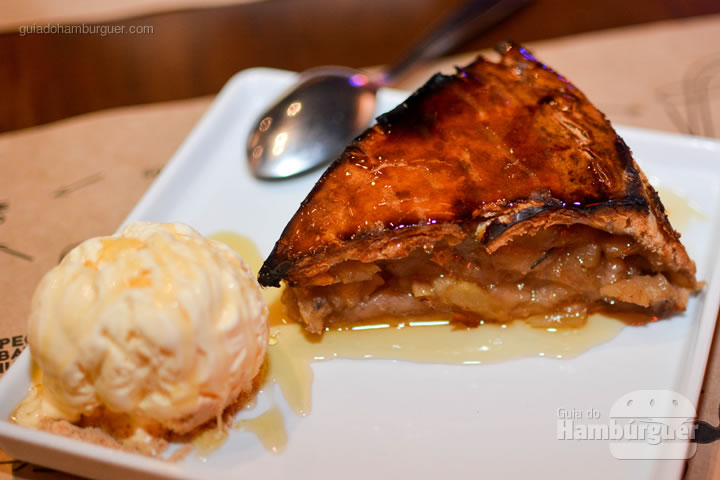 Big Apple, torta de mação incrível - BFactory Hamburgueria em Santo André