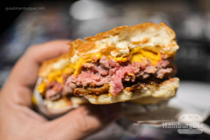 Ponto do cheese bacon - Stunt Burger