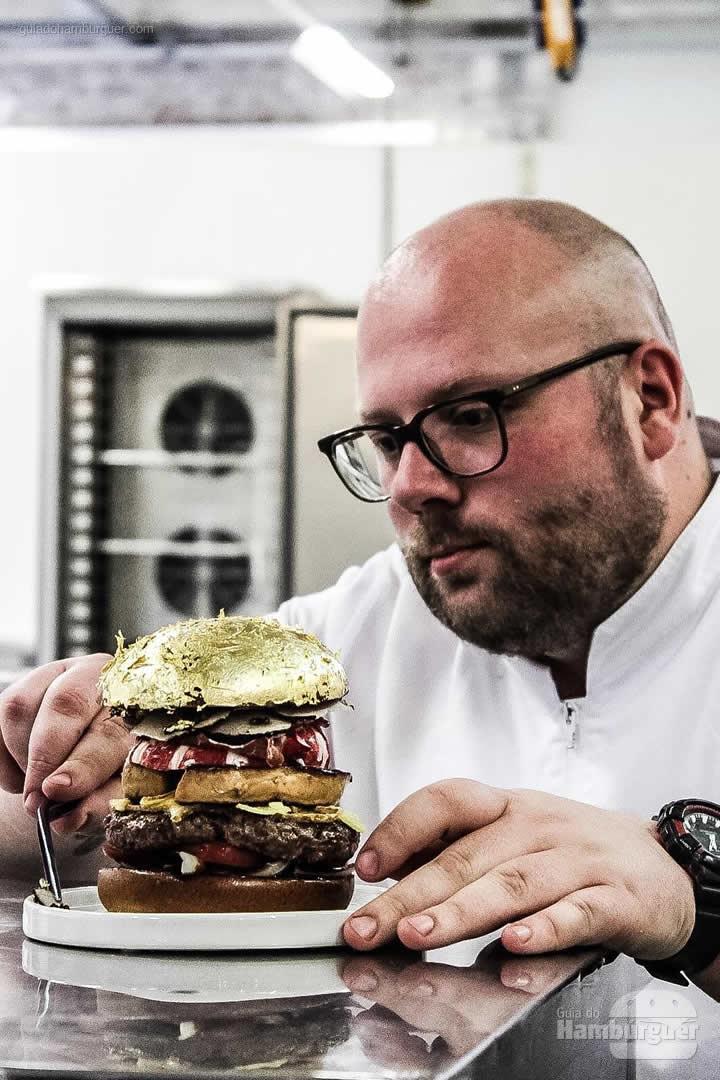 Chef Diego  - Chef holandês Diego Buik cria hambúrguer para ser o mais caro do mundo