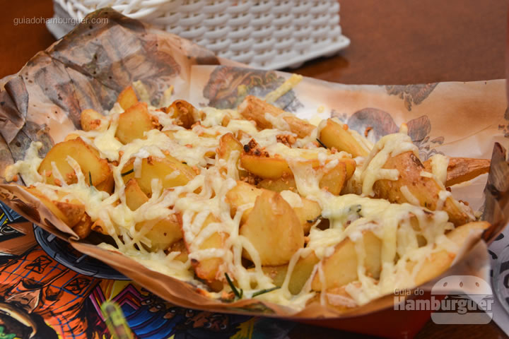 Fritas Contry com batatas rústicas - Smart Burger em Osasco