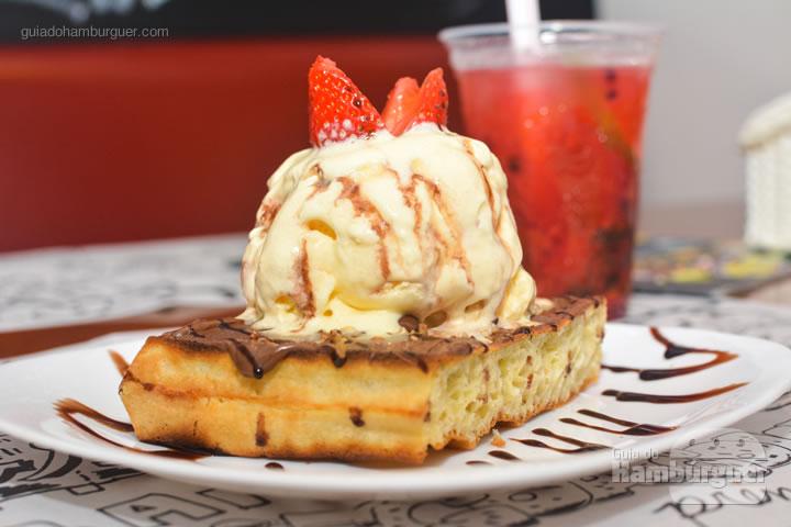 Waffle de Nutella - Smart Burger em Osasco
