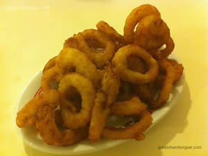 Onion Rings - New`s Lanchonete