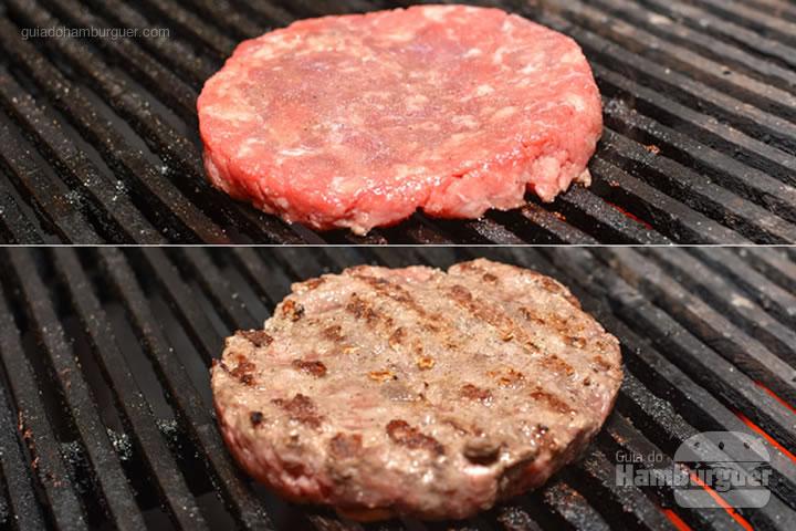 Hambúrguer na grelha - M.A.T. o hambúrguer com molho secreto, alface e tomate chega à Lanchonete da Cidade