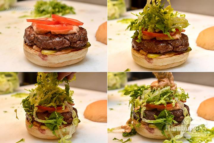 Finalização - M.A.T. o hambúrguer com molho secreto, alface e tomate chega à Lanchonete da Cidade