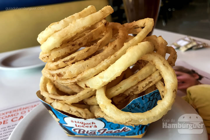 Onion rings - Big Jack Hambugueria