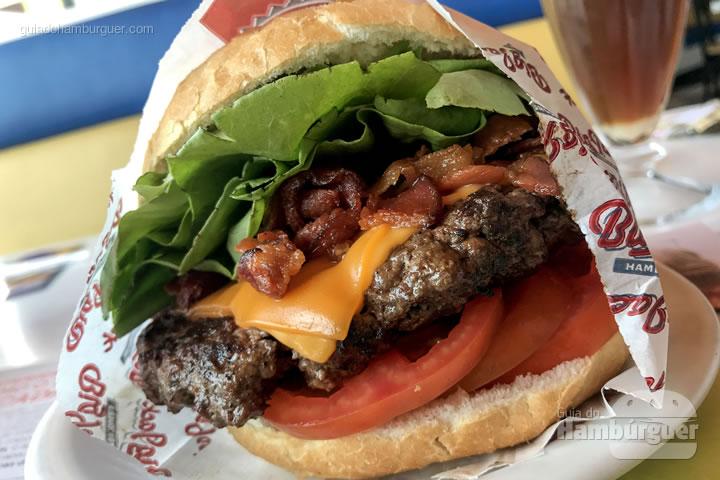 Hambúrguer Angus com 250g - Big Jack Hambugueria