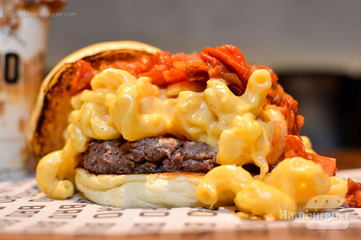 Mac N Cheese - Novo cardápio Bro Burger