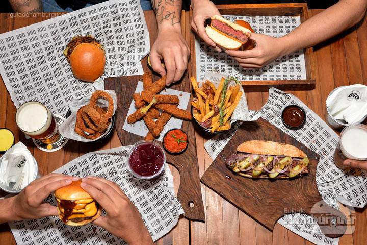 Banquete - Novo cardápio Bro Burger