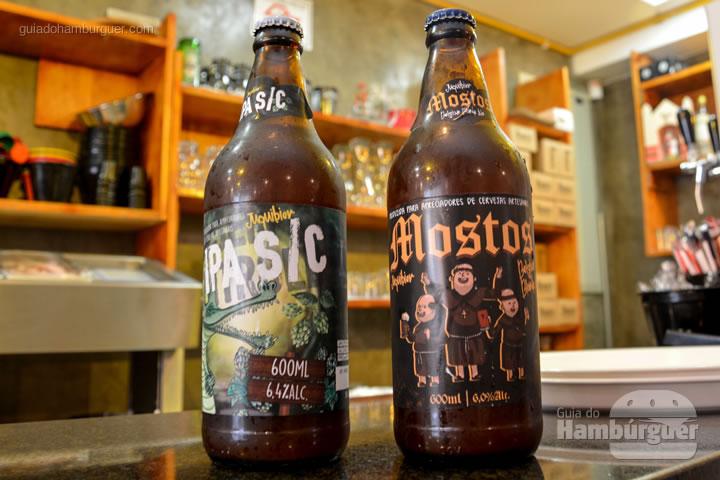 Cervejas produzidas pela casa - Bendito Rock Burger, hamburgueria e cervejaria artesanal