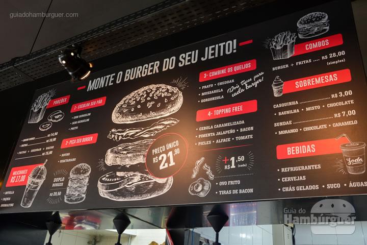 Cardápio - The Xtreme Burger
