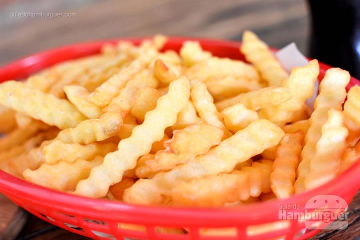 Porção de fritas por R$ 10,90 - The Xtreme Burger