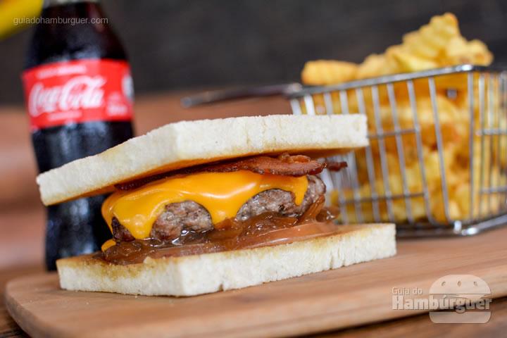 Hambúrguer especial para o Burger Fest - The Xtreme Burger
