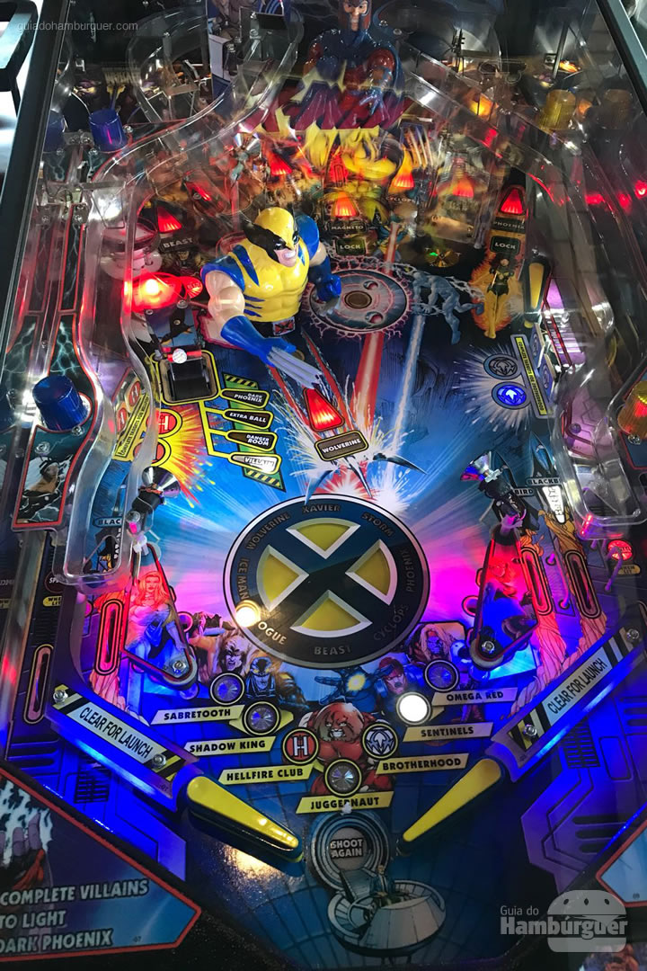 Pinball do X-Men - The Xtreme Burger