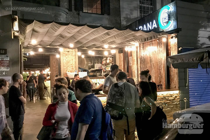 Fachada - Cabana Burger