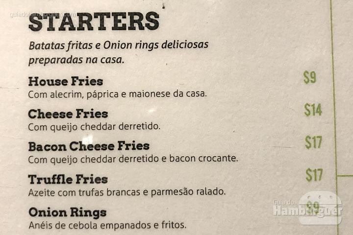 Cardápio - Cabana Burger
