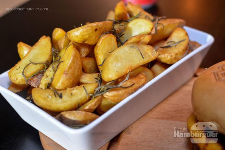 Batatas rústicas servem 2 pessoas - United Burger