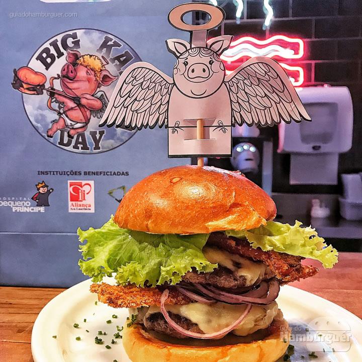 Hambúrguer - Big Kahuna Day: faça o bem!