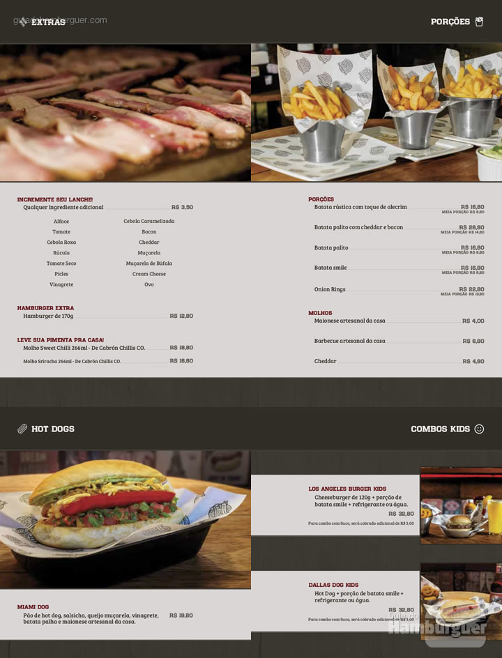Cardápio - Menca Burger