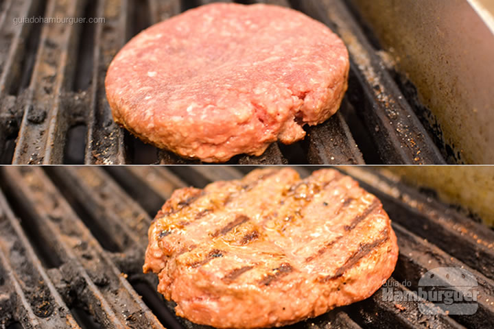 Hambúrguer na grelha - Menca Burger