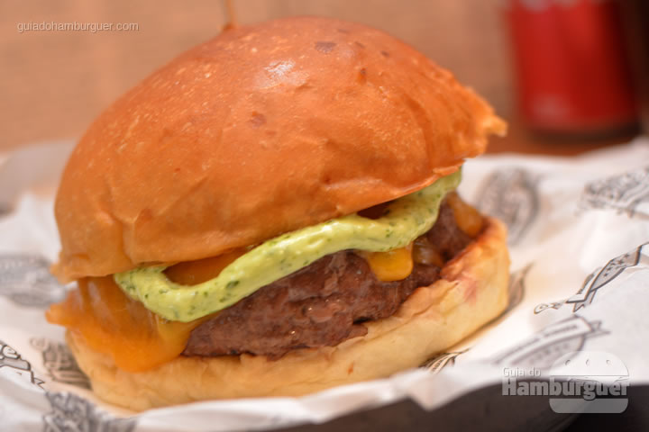 Cheeseburger - Menca Burger
