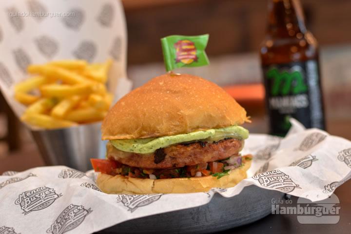 Hambúrguer de calabresa, receita especial do Mencarini - Menca Burger