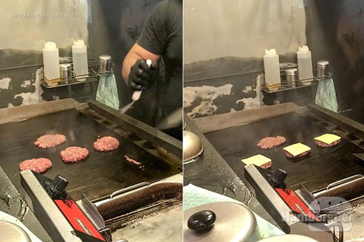 Hambúrguer na chapa - Bullguer