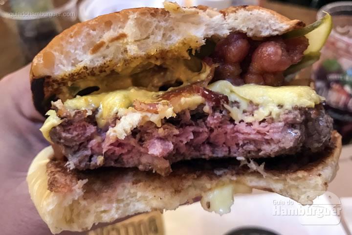 Ponto da carne do Lumberjack - Bullguer