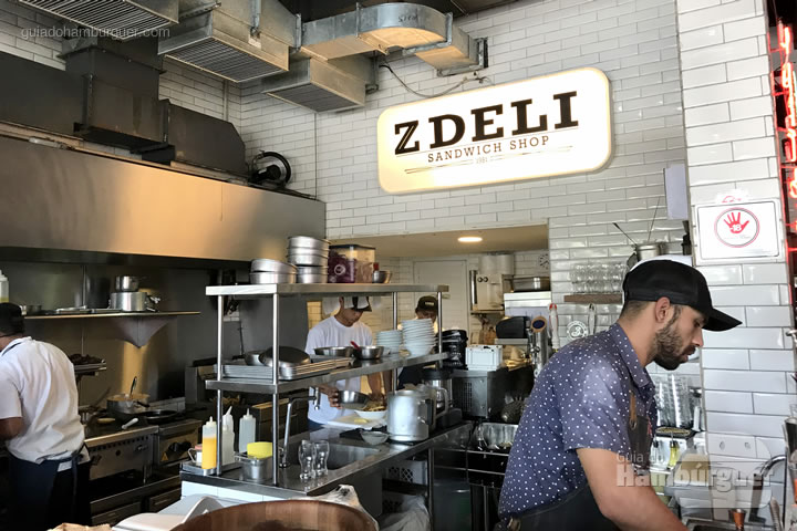 Balcão - Z Deli Sandwiches
