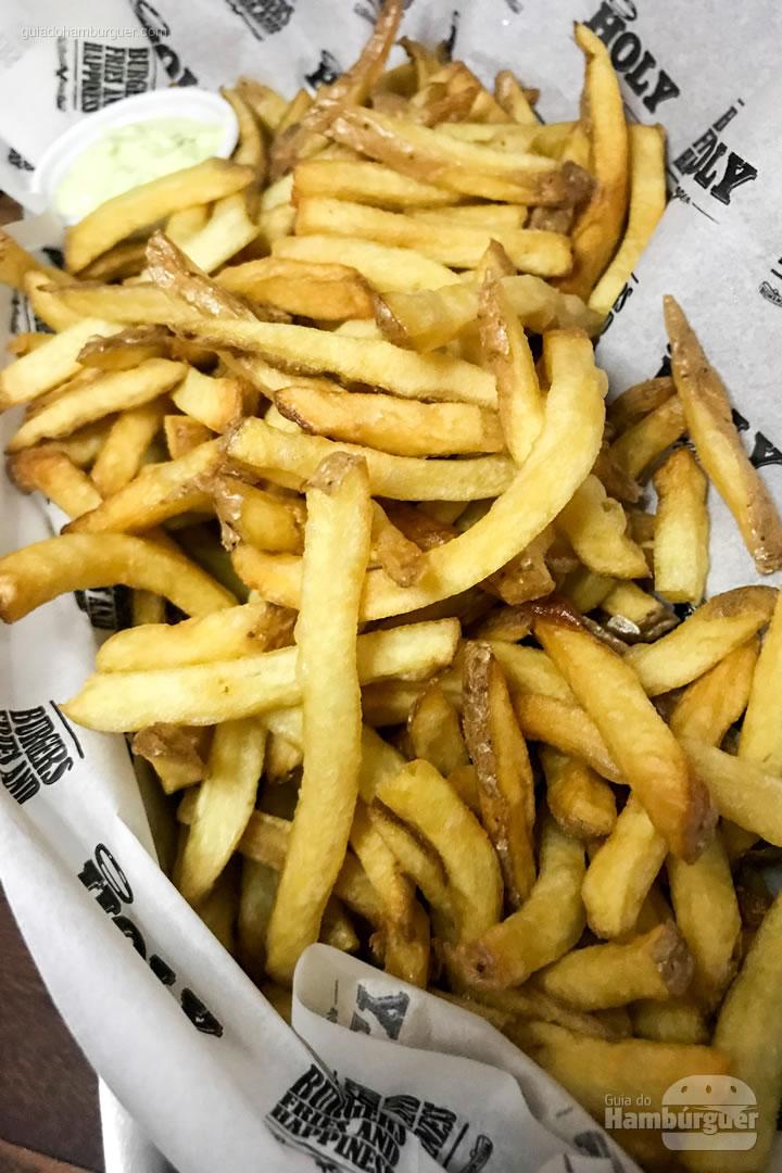 Fritas feitas na casa - Holy Burger