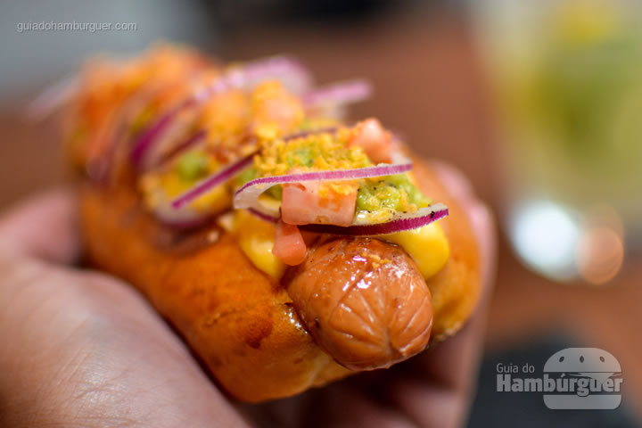 Hot dog inspirado na culinária mexicana - Frank & Charles Sandwich Bar