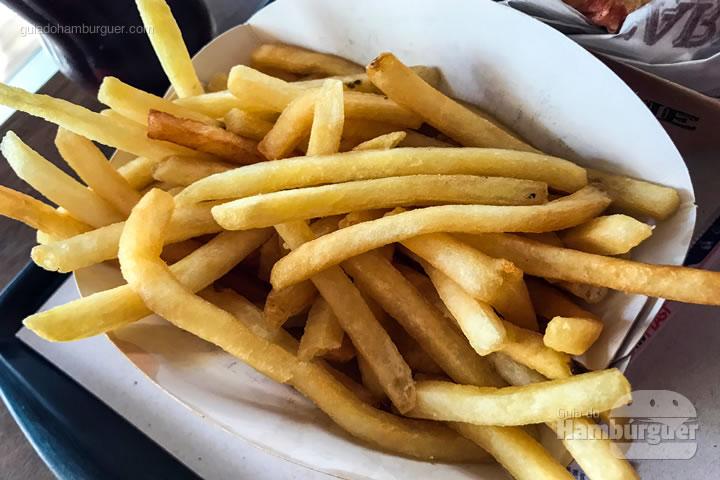 Porção de fritas - Pão com Carne