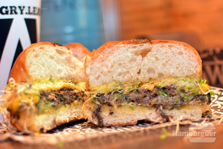 Hambúrguer de cogumelos - Raw Street Burger