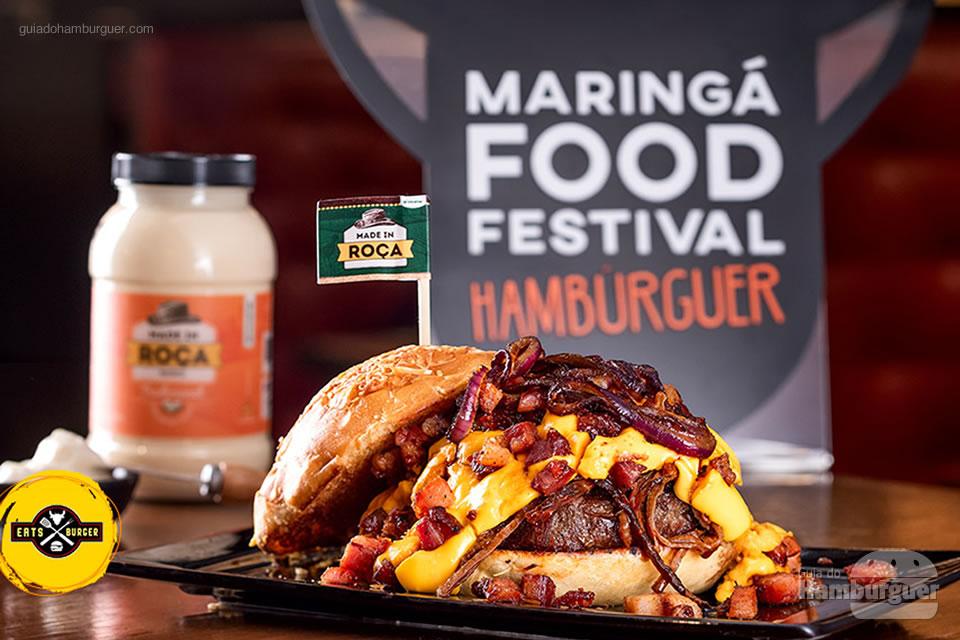 4º Eats Burger - As 10 melhores hamburguerias do Maringá food festival eleitas pelo público