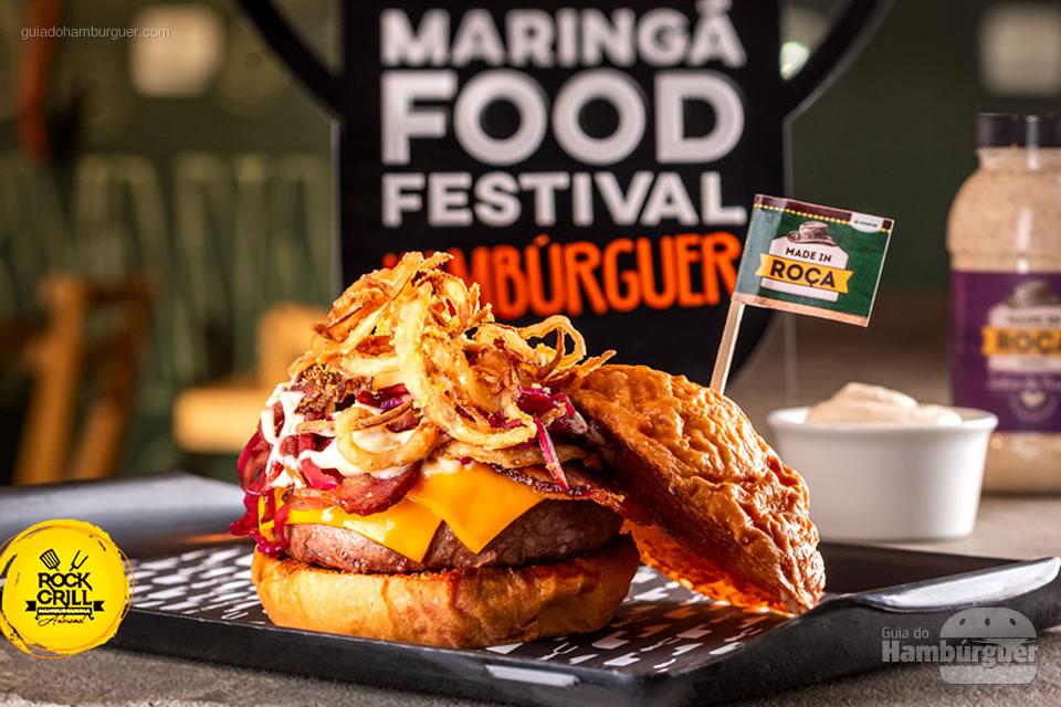 6º Rock Grill - As 10 melhores hamburguerias do Maringá food festival eleitas pelo público