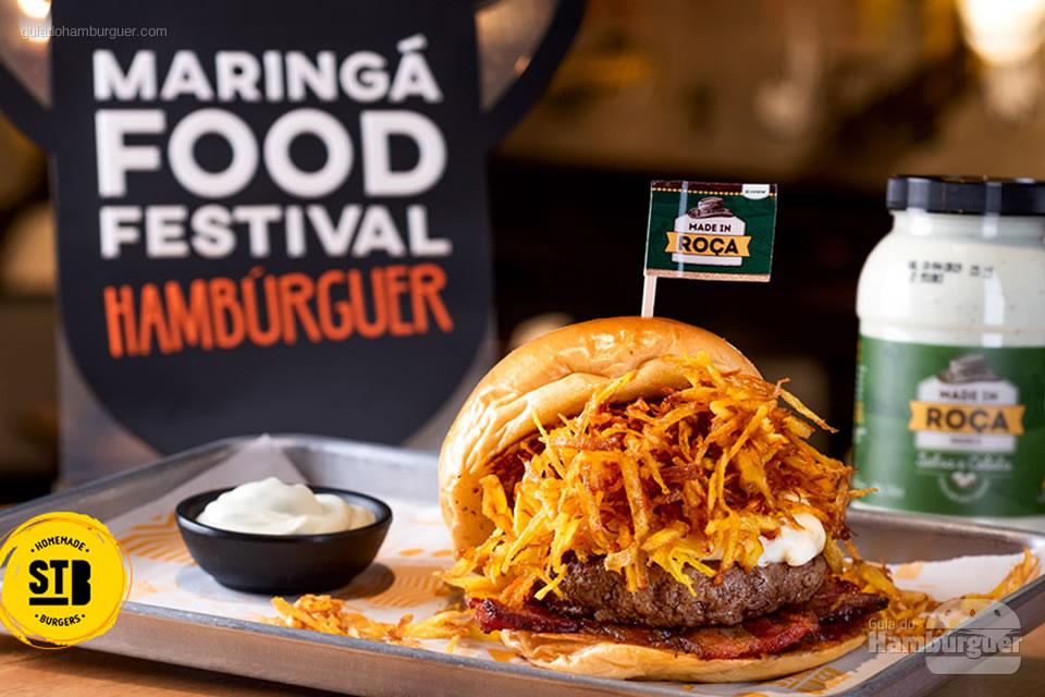 8º Street Burger - As 10 melhores hamburguerias do Maringá food festival eleitas pelo público