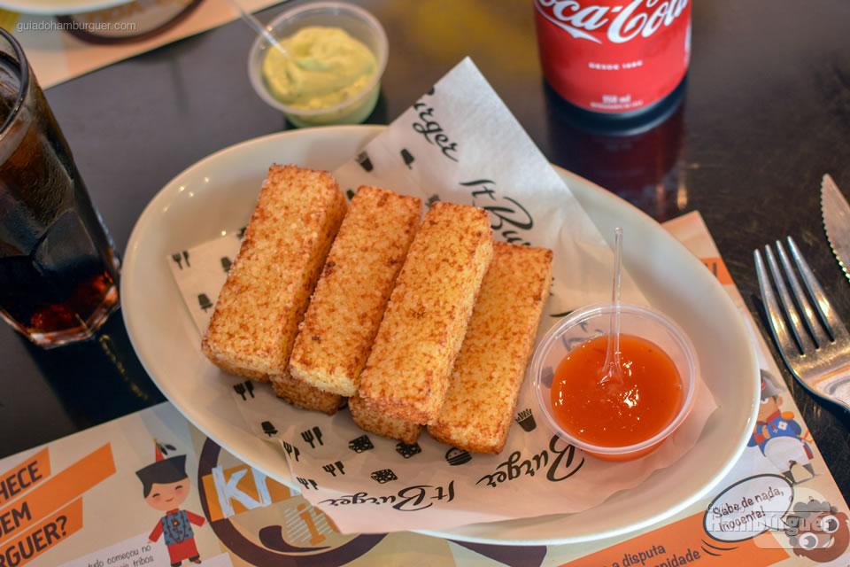 Sticks de tapioca - It Burger Tatuapé