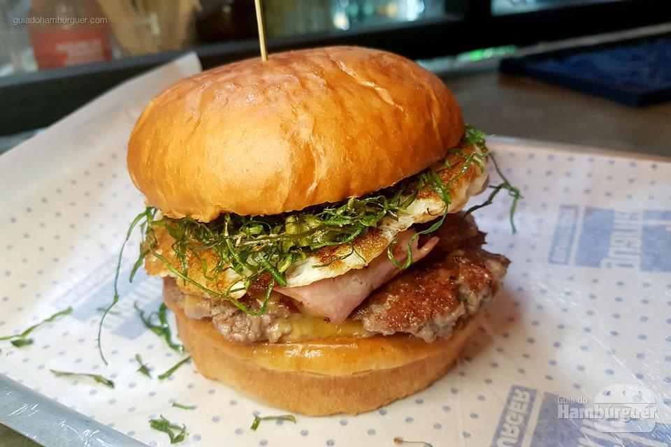 Bacon Couve Smash - Guarita Burger