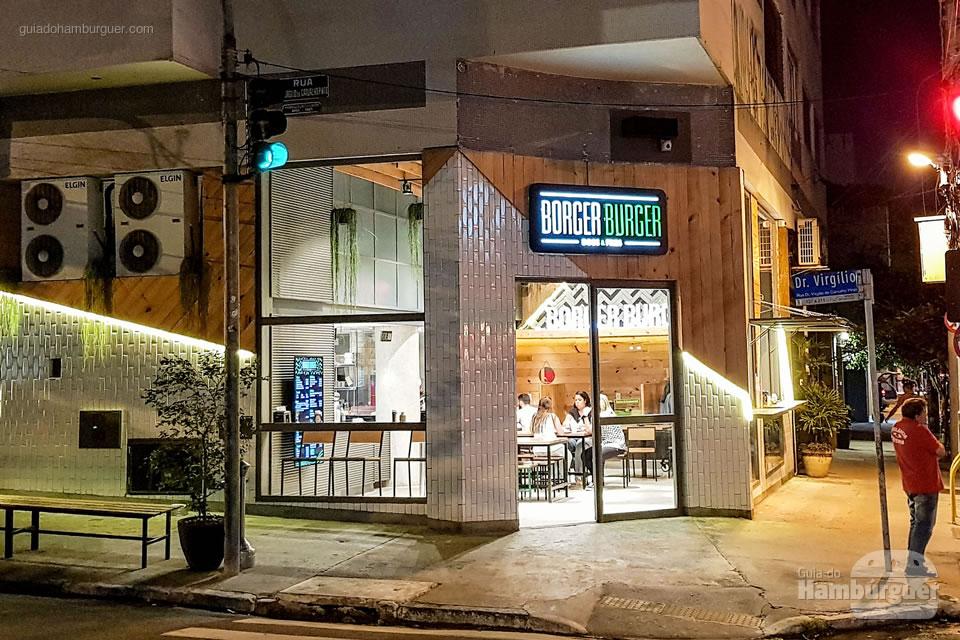 Fachada - Borger Burger - Pinheiros SP