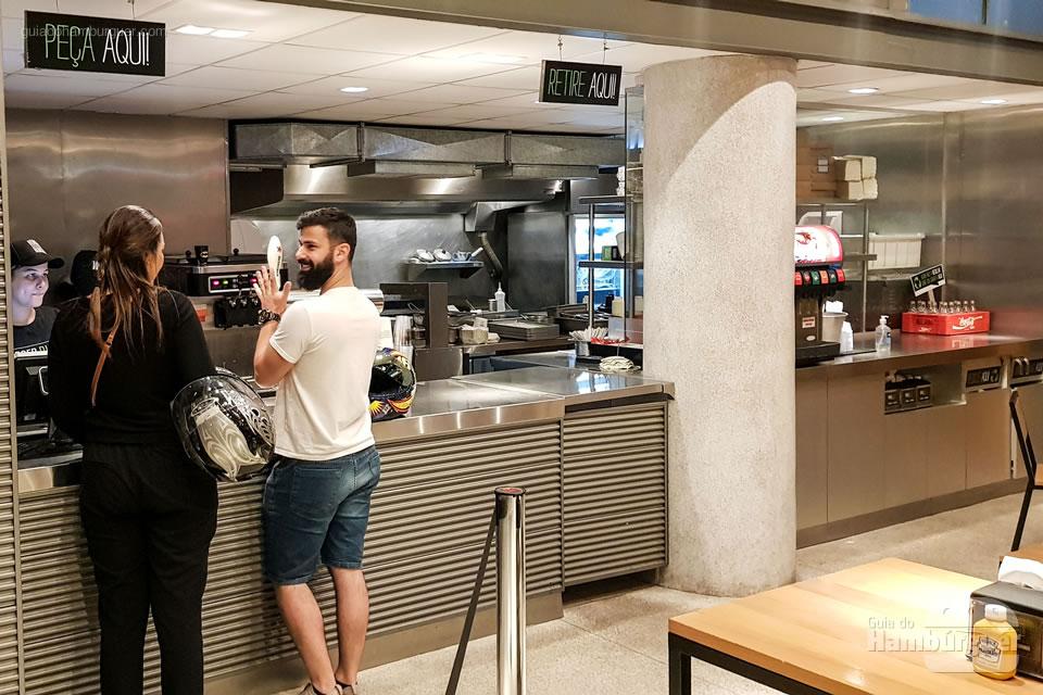 Balcão - Borger Burger - Pinheiros - SP