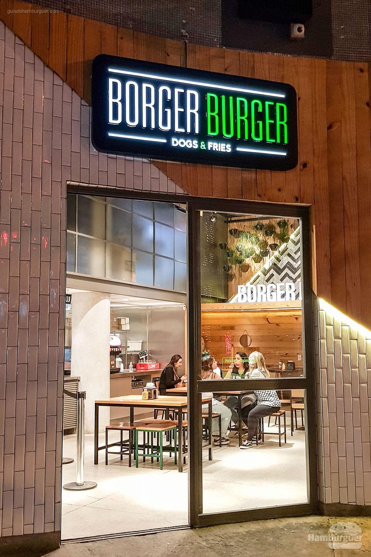 Fachada - Borger Burger - Pinheiros - SP