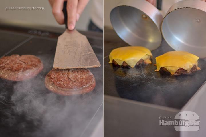 Hora de derreter o queijo - Chapa para hambúrguer vitrocerâmica Plana da Evo Pro