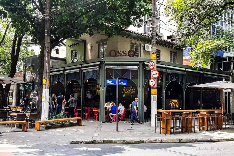 Fachada - Osso Belo Horizonte - Guia do Hambúrguer