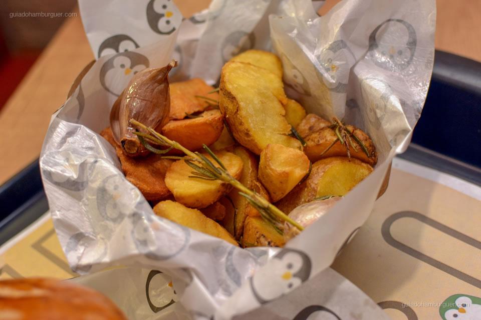 Batatas rústicas - Le Pinguê