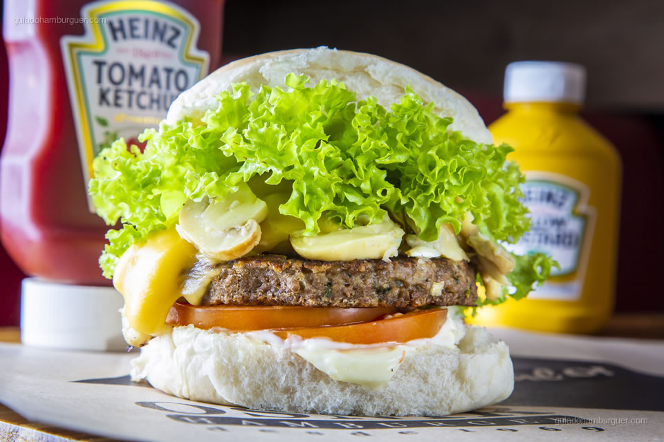 Burger Fest - Cheese Champignon VeggIe - Osnir Hamburger - Mirandópolis - São Paulo
