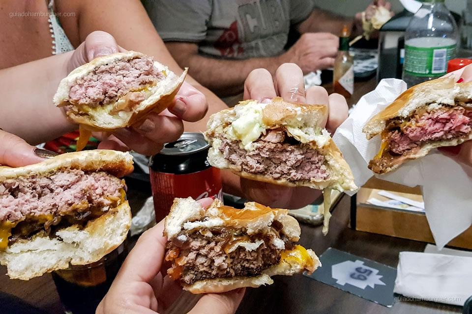 Burgers - Seven Kings - Santos - São Paulo