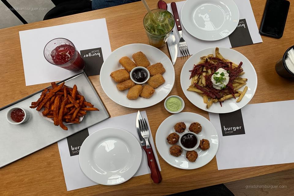 Porções - Burger Shop - Vila Olímpia - São Paulo