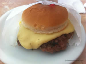 Cheese calabresa - Blooming Burger